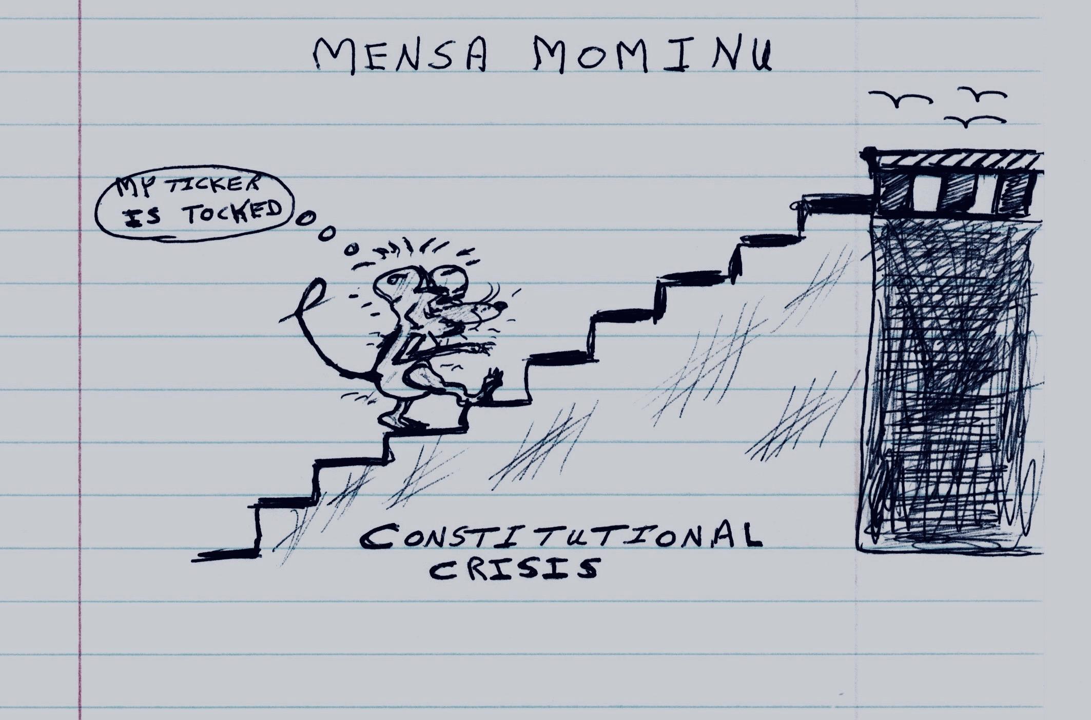 Constitutional Crisis. Mensa Mominu.