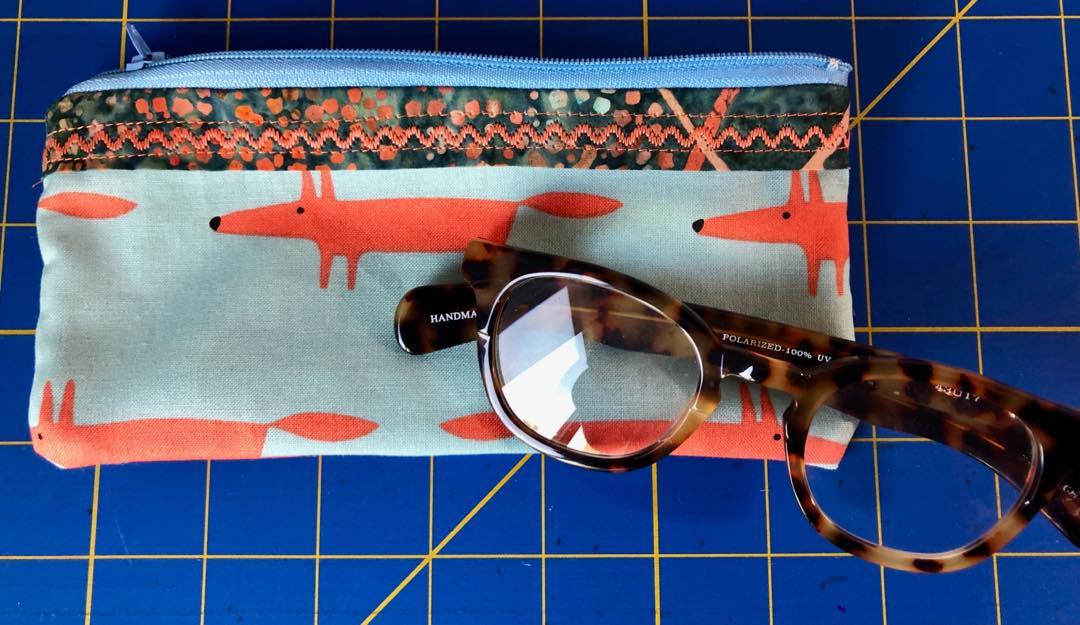 FOXY!  Glasses Case