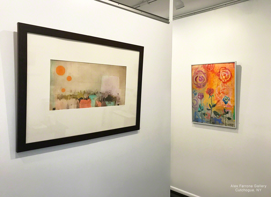 Spring into Collecting Exhibit works by Richard Gardner and Lucy Dewitt