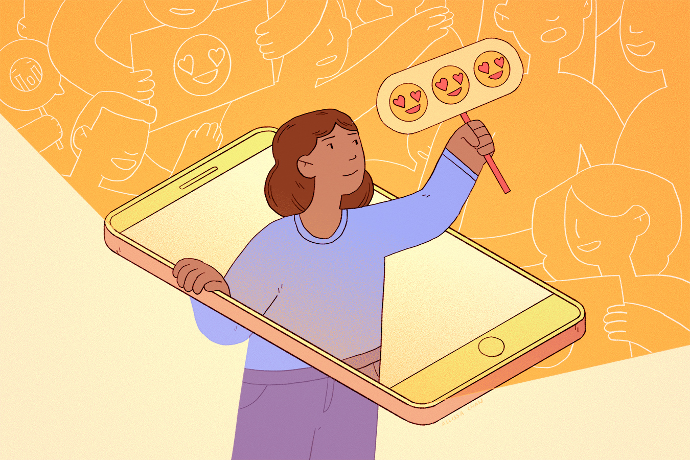 self-directed assignment  — a look at the unspoken rules of teens' social media use
