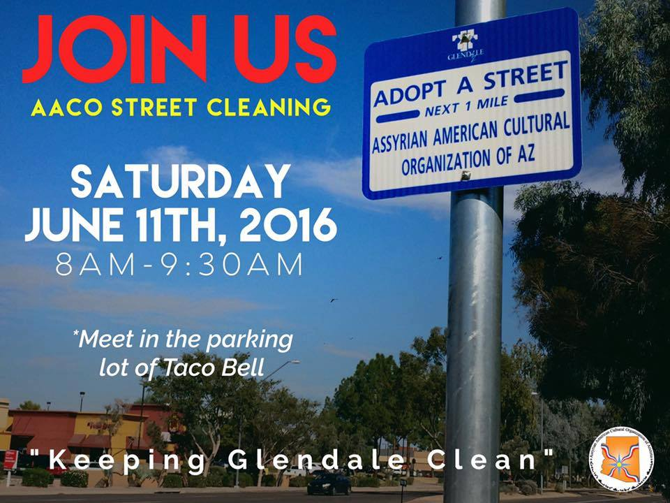 Adopt-A-Street  - Bringing together both youth and adults in community service  to clean up an adopted Glendale street.