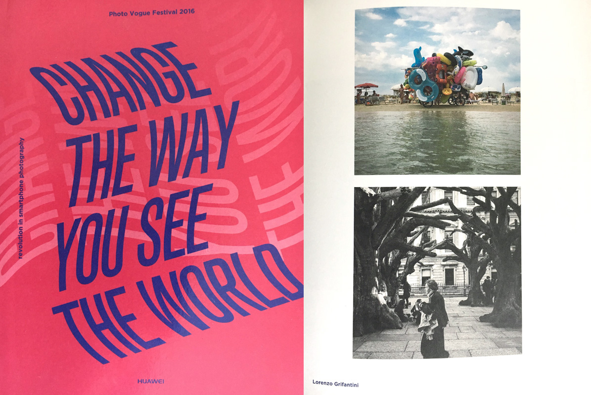 """Change The Way You See The World"" Book with Photovogue"