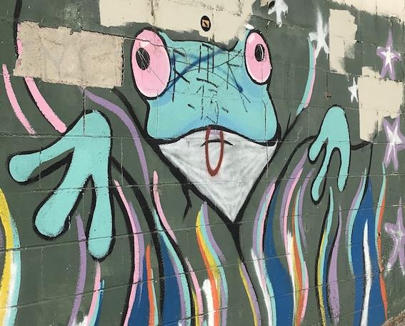 Frogtown mural