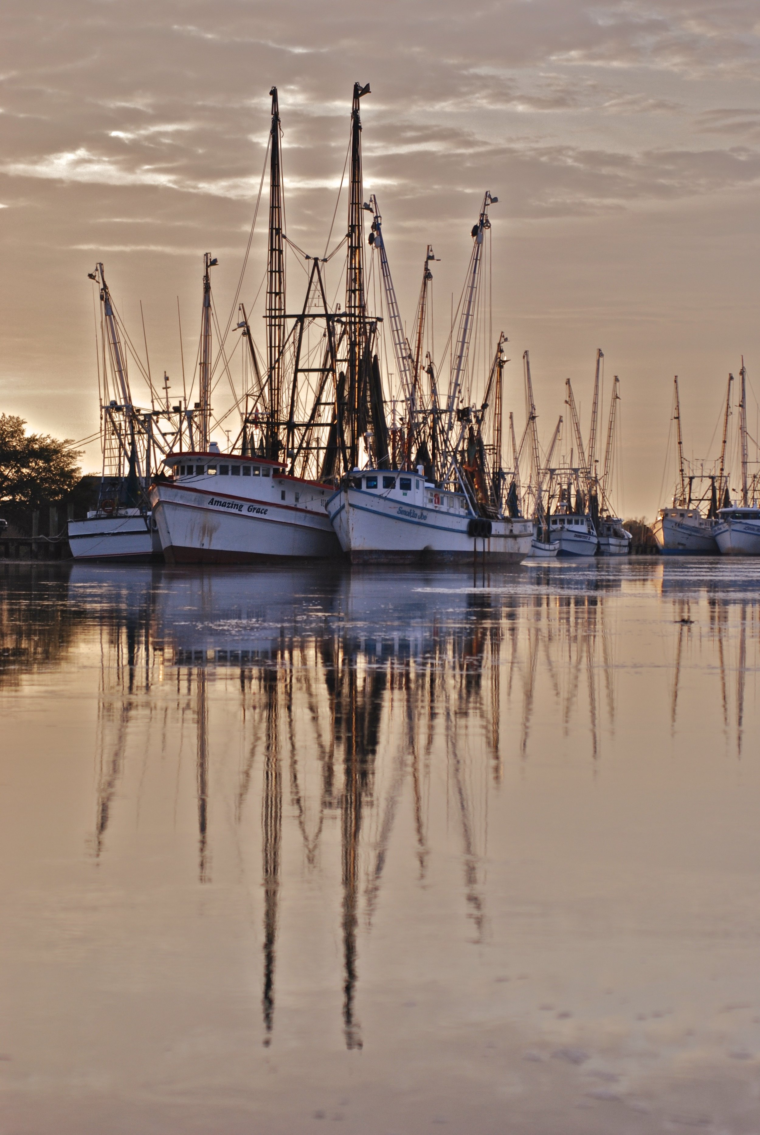 Here's the original from Darien, GA waterfront