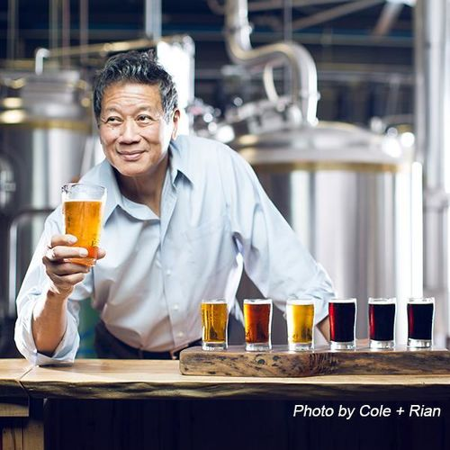 Oscar Wong - Photo from the Highland Brewing website