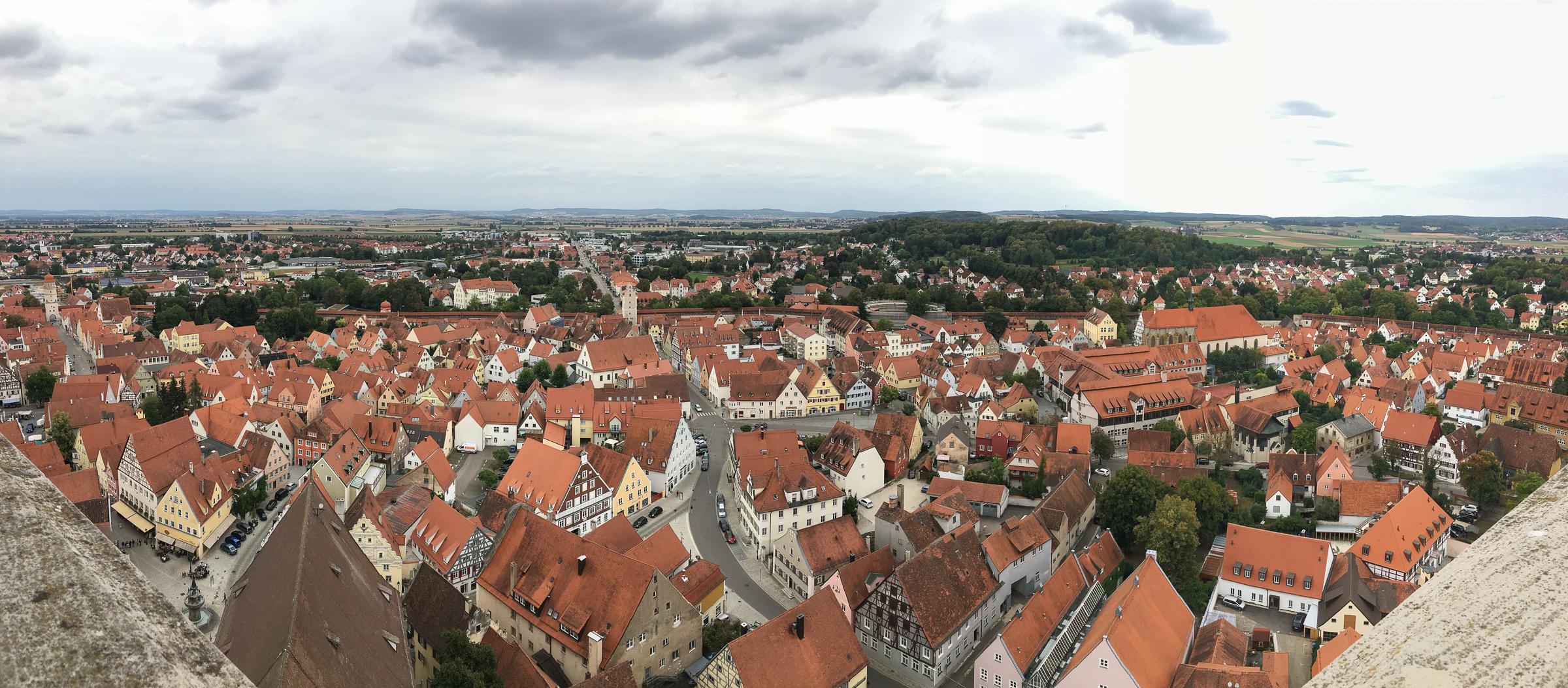 Panoramic pic from the top