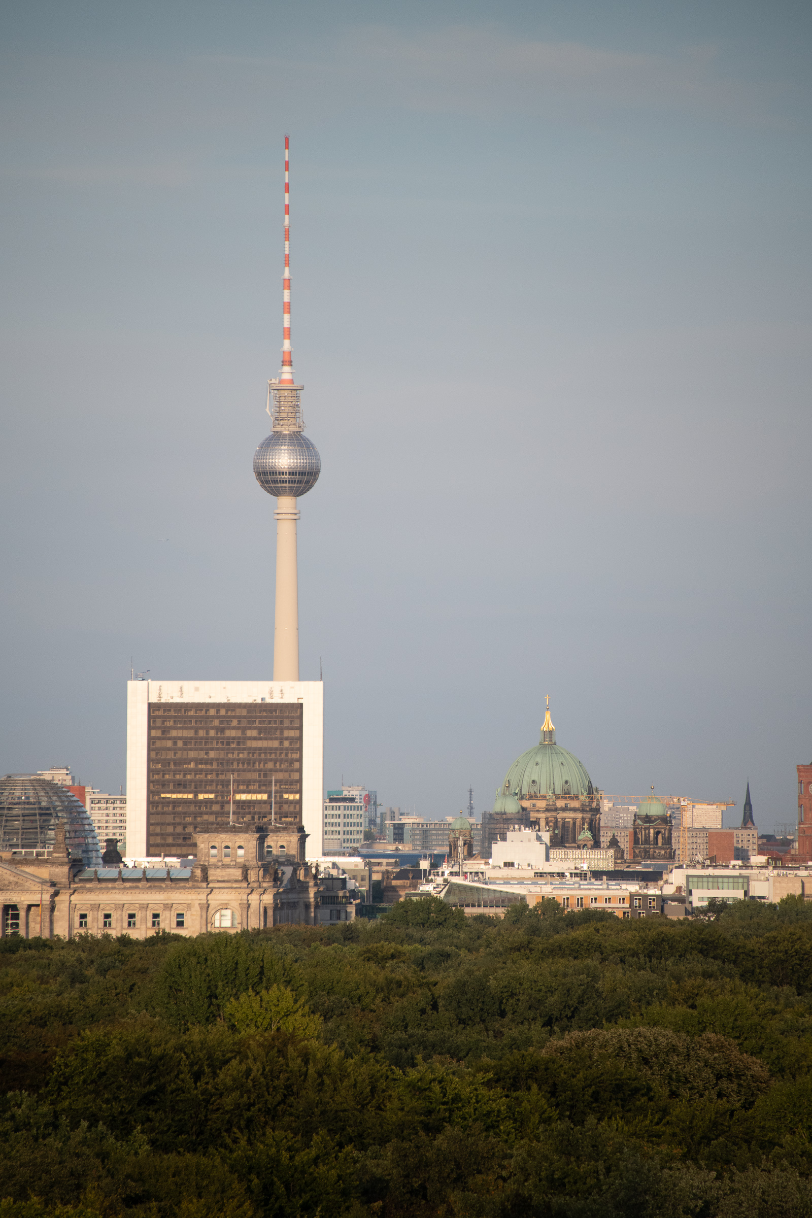The TV Tower in the former East Berlin