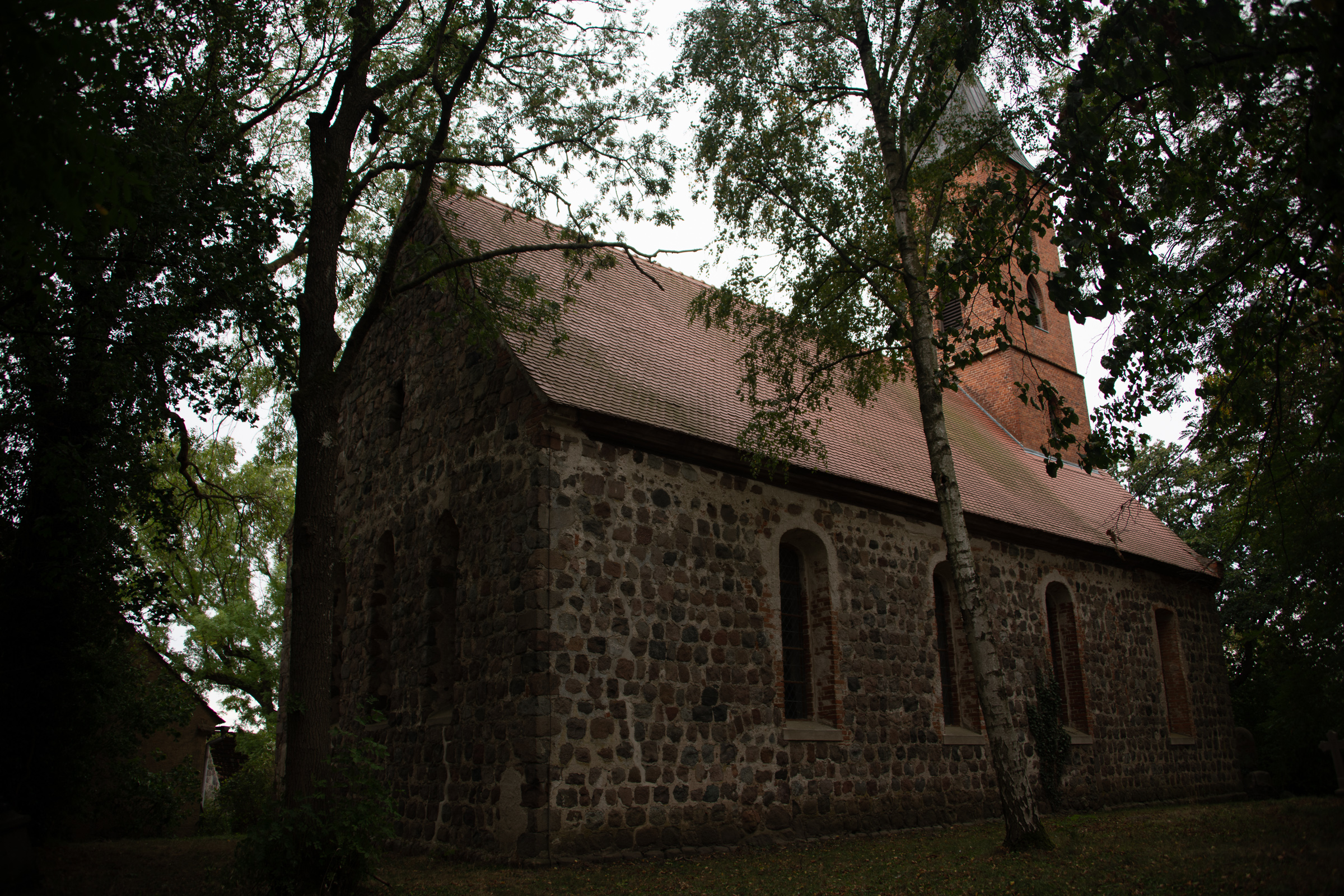 The Strassburg/Behnke church in Wallmow