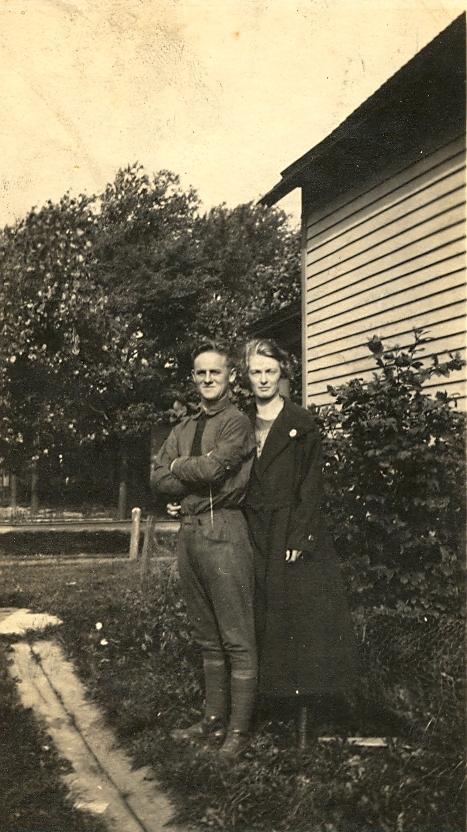 My grandparents, 1919