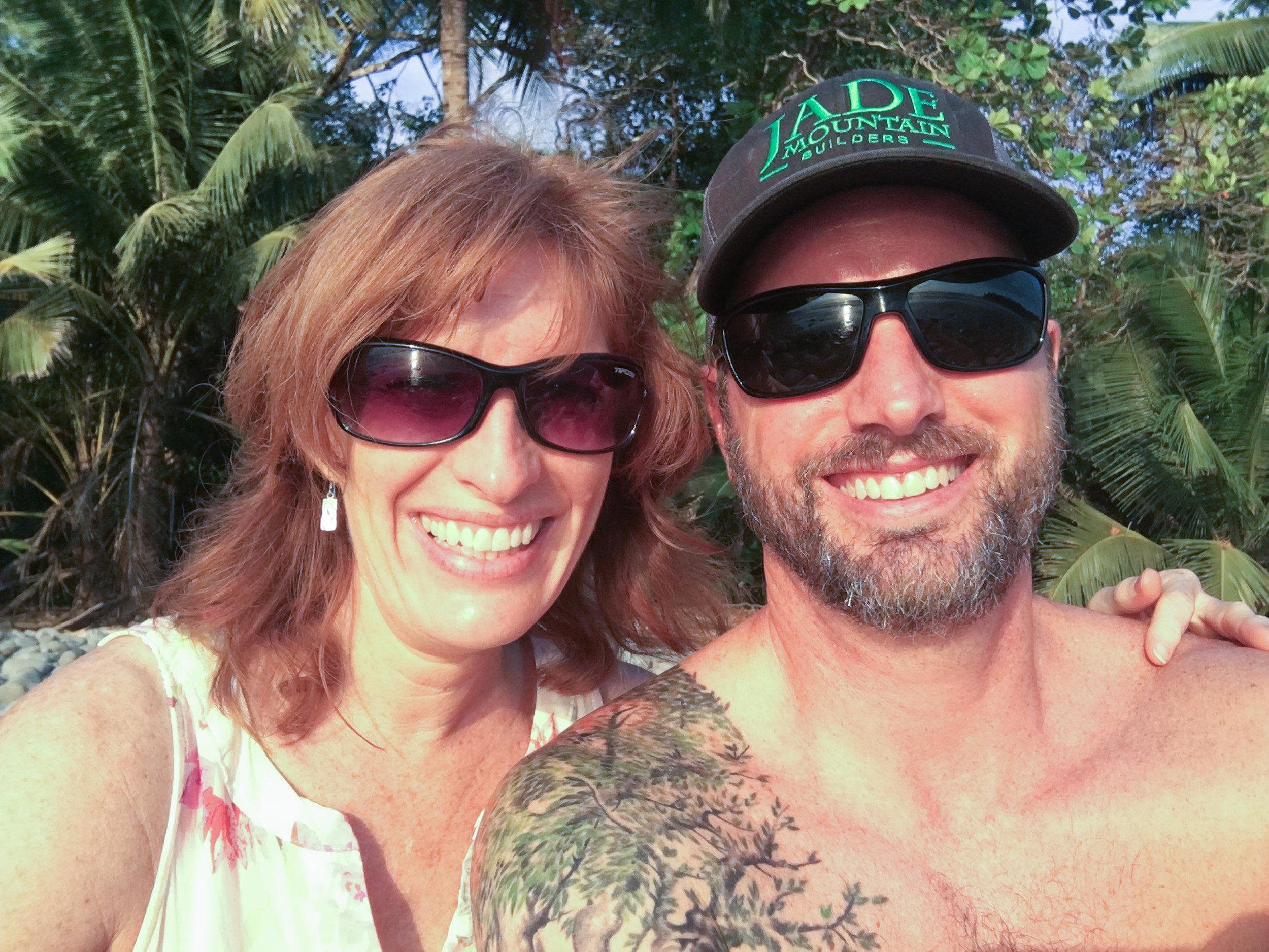 Favorite selfie - Playa Pinuela, Costa Rica