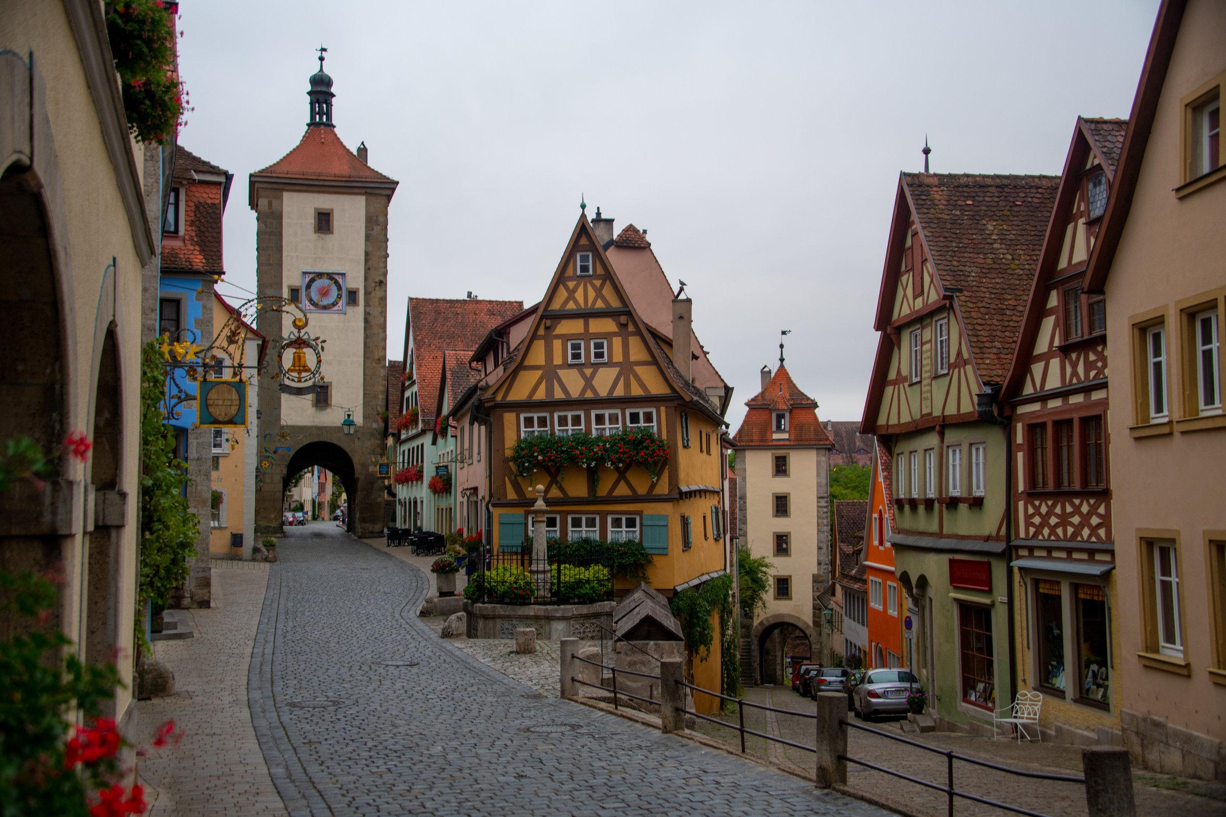 Probably my favorite photo - Rothenburg ob der Tauber, Germany