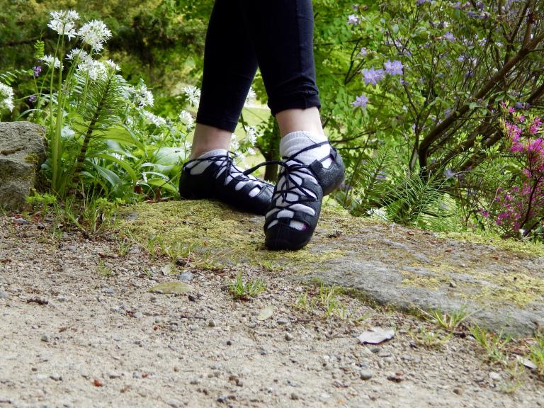 Step Dancing in Powerscourt Gardens