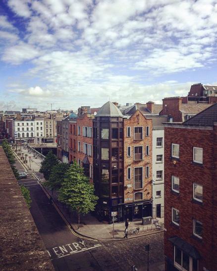 A Dublin Street Corner