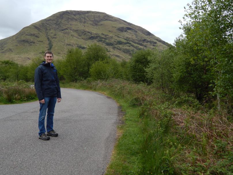 Wes on the Scottish Moors