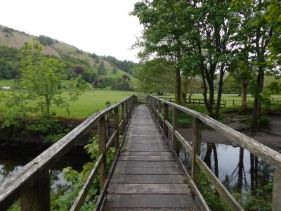 Wooden Bridge in Grasmere