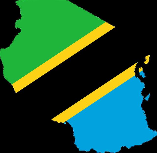Tanzania Flag Map.png