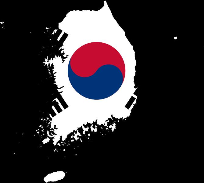 South Korea Flag Map w Border.png
