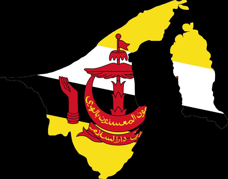 Brunei Flag Map w border.png