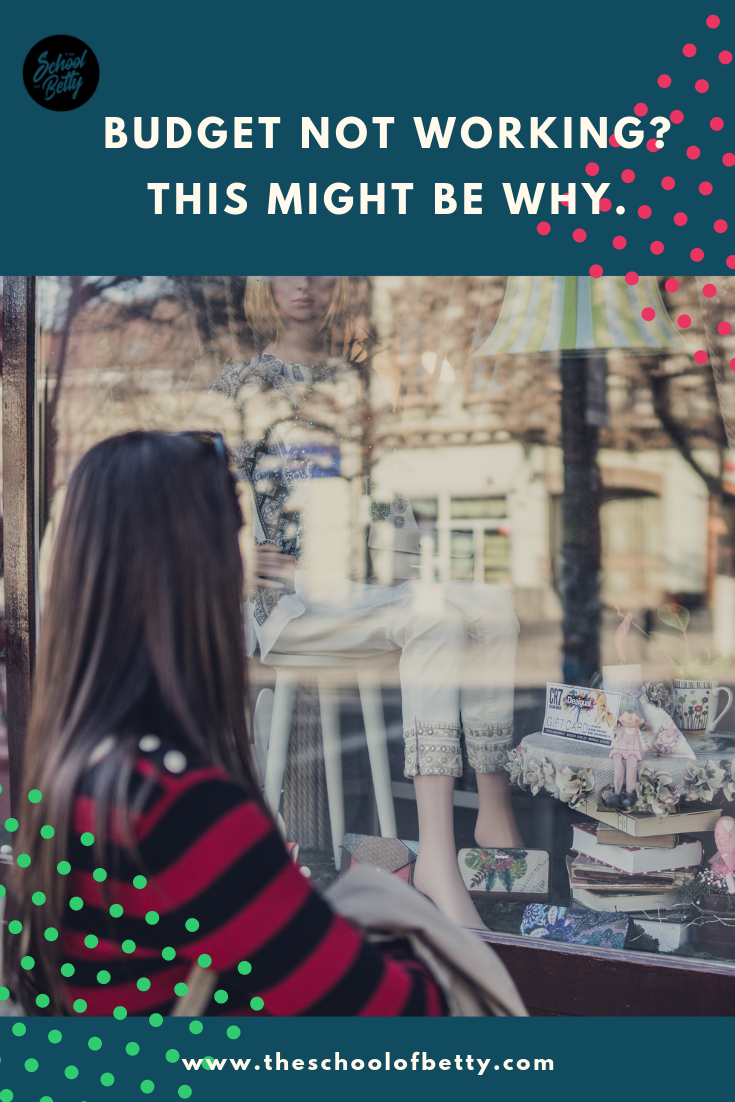 The reason your budget might not be working, and it has nothing to do with money.
