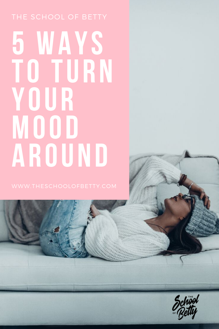 Don't let your day run you! Try one of these simple exercises to shift your mood.