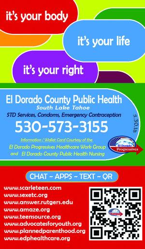 El Dorado Blue Card >> Wallet Card El Dorado Progressives