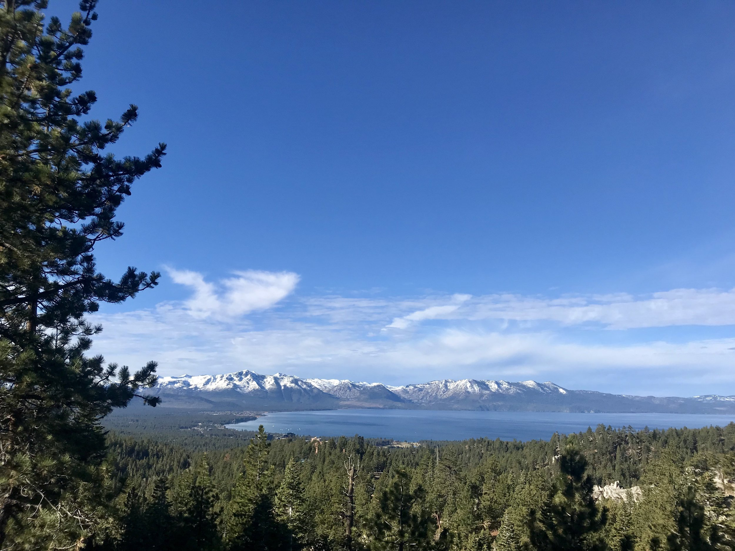 Nobody grows up wanting to be an LSAT teacher, but the perks are pretty nice. Lake Tahoe, Nov. 2017