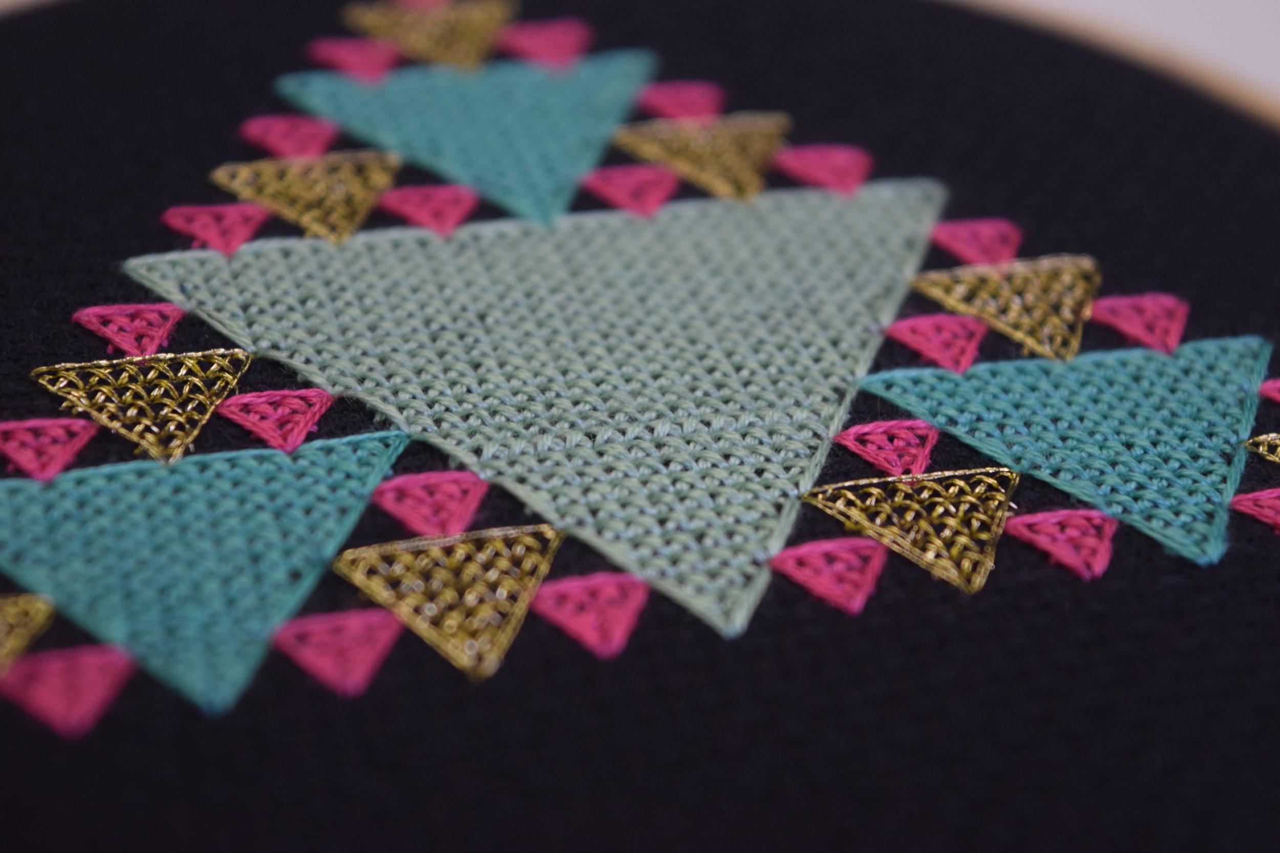 Sierpinski Pattern by Stitch Octopus