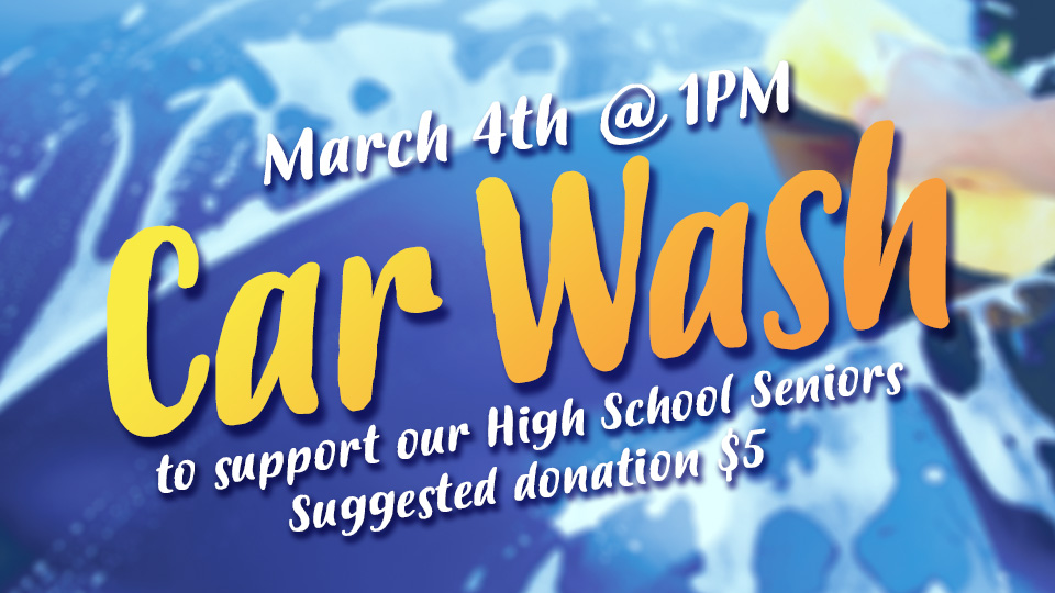 Sunset Church of Christ Youth Miami Car Wash