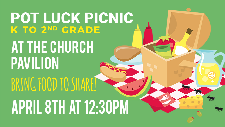 Sunset Church of Christ picnic for the children.