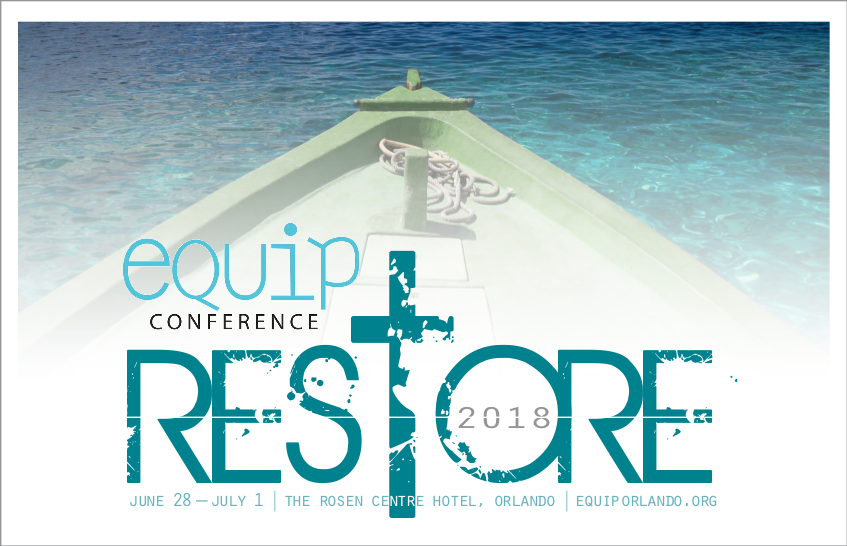 RESTORE: A Spiritual Growth Workshop - The Equip Conference exists to provide a place for Christians to worship, learn, and enjoy the unity of our brotherhood. We also want to equip you for greater service to the Father. We believe that equipping the saints with a solid biblical foundation, the latest tools and information, and a challenge to join God in the redemptive work he is doing on this earth is what the Equip Conference is all about.Listen to the recordings here →