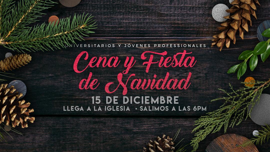Iglesia de Cristo en Sunset: Cena y Fiesta de Navidad para Universitarios y Jóvenes Professionales