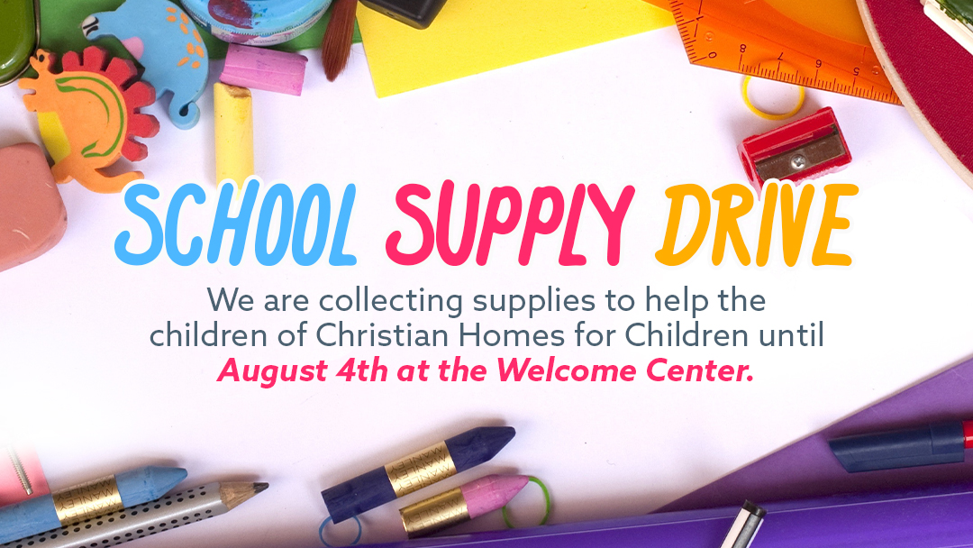 Sunset Church of Christ School Supply Drive