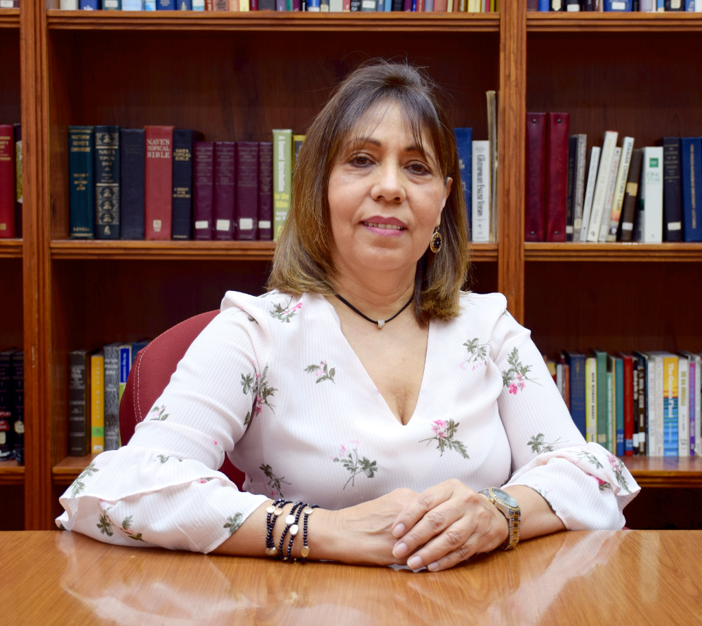 Josefina García  Assistant for Ministry Coordination
