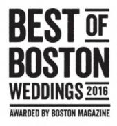 best of boston weddings 2016 logo