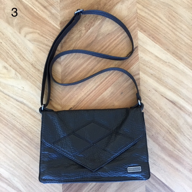 Vegan Leather cross-body - easy to carry, good size, can dress it up or down