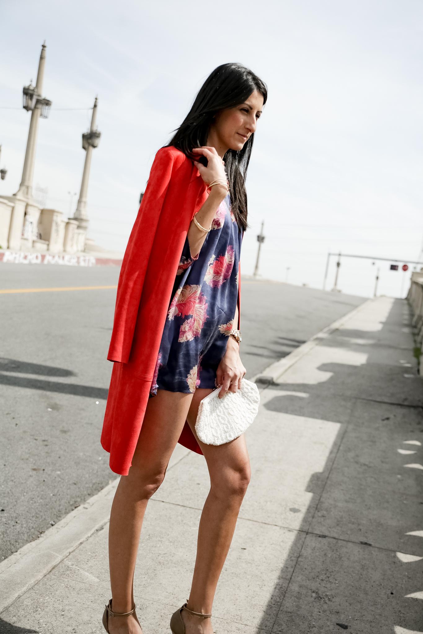 night option - Slate Farylrobin for Free People vegan heels, Vanitas mini dress, vintage beaded clutch, jewels