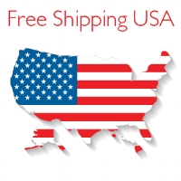 We ship anywhere in the United States, including Alaska & Hawaii, for free.