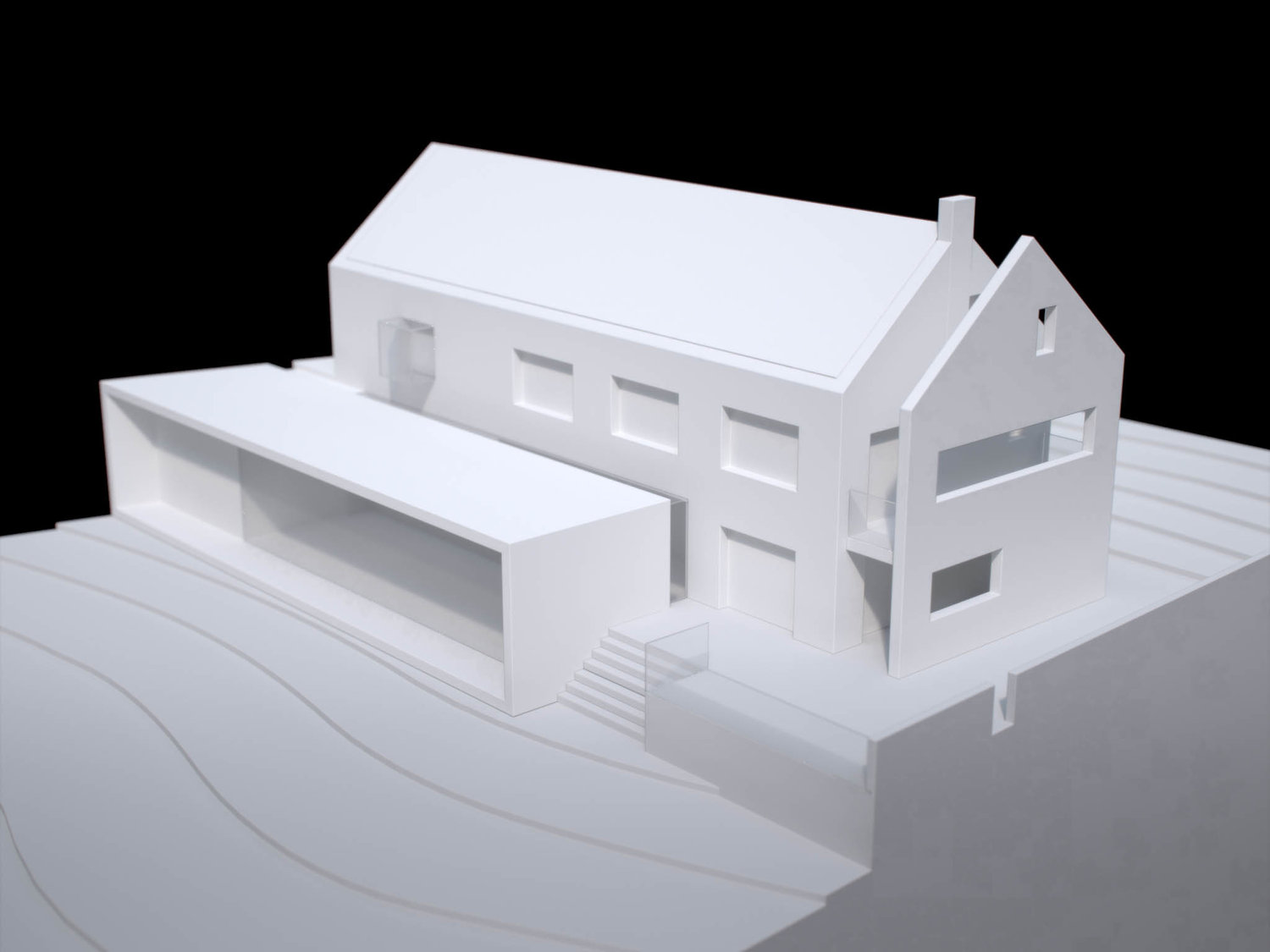 Private House Physical Model 3