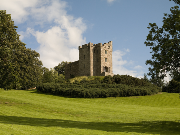 Castell Gyrn Exterior 2