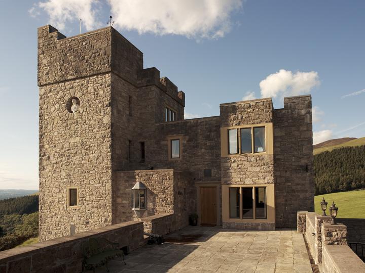 Castell Gyrn Exterior 3