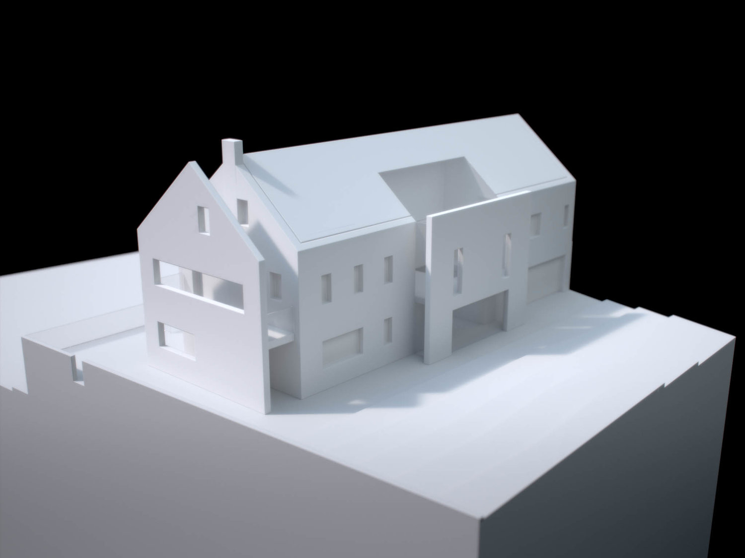 Private House Physical Model 4