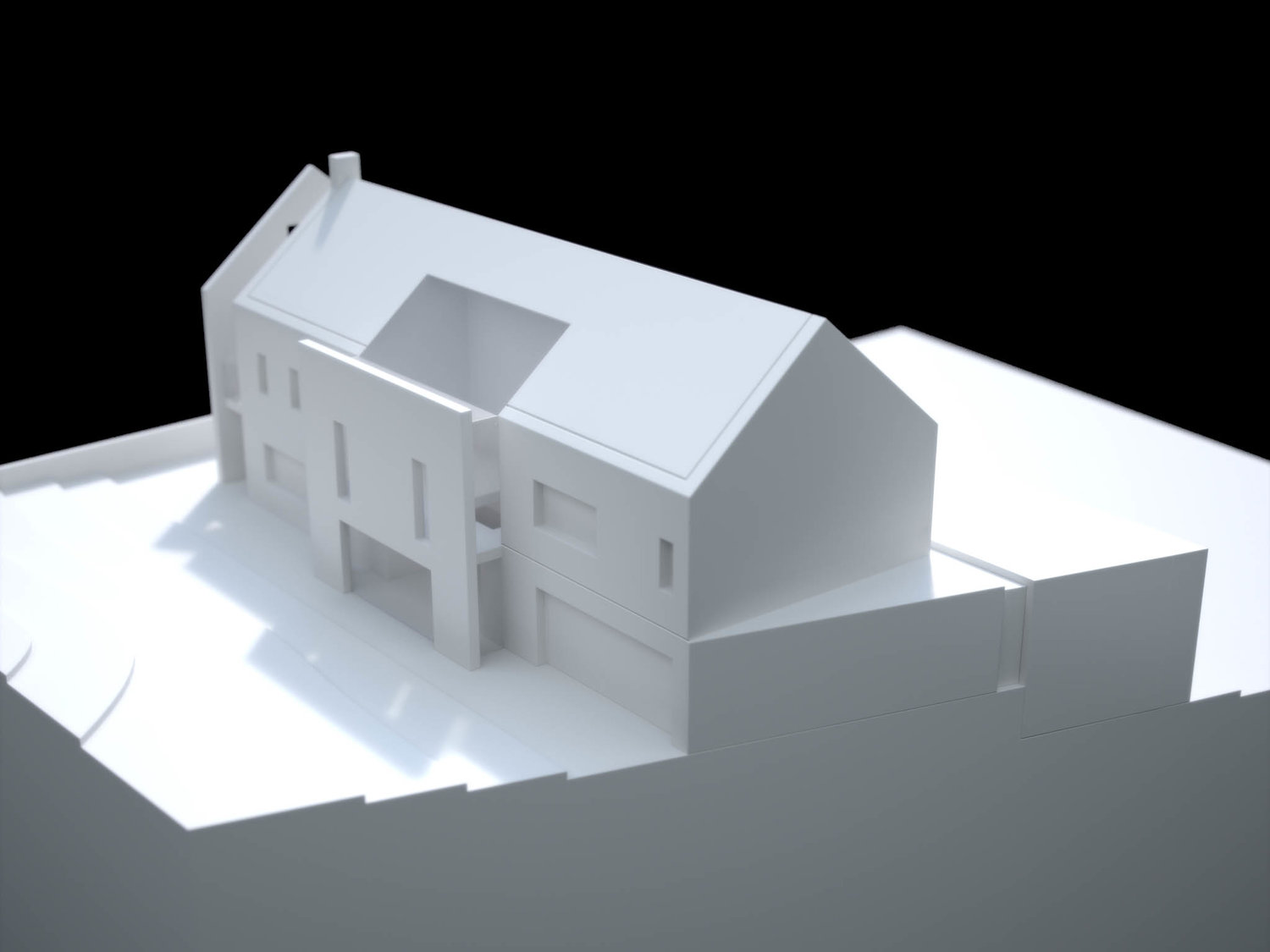 Private House Physical Model 5