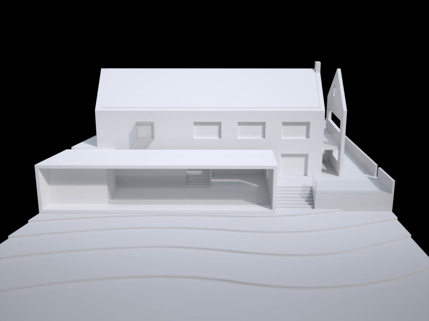 Private House Physical Model 6