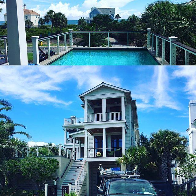 Window Cleaning on IOP.. loved the view while working! #mountpleasant #Charleston #jamesisland #pressurewashing #windowcleaning #boatdetailing #medic #follybeach #mountpleasant #iop