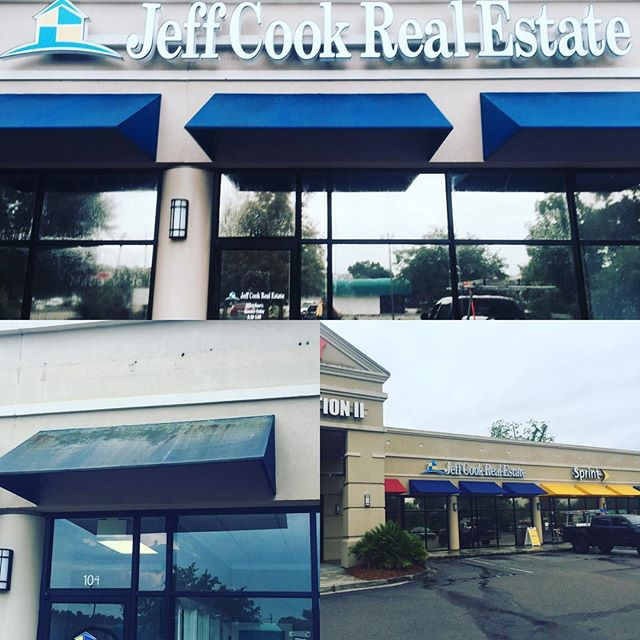 Awning Pressure Washing Jeff Cook Real Estate #jeffcook #Charleston #jamesisland #pressurewashing #windowcleaning #boatdetailing #medic #follybeach #property #windowcleaner