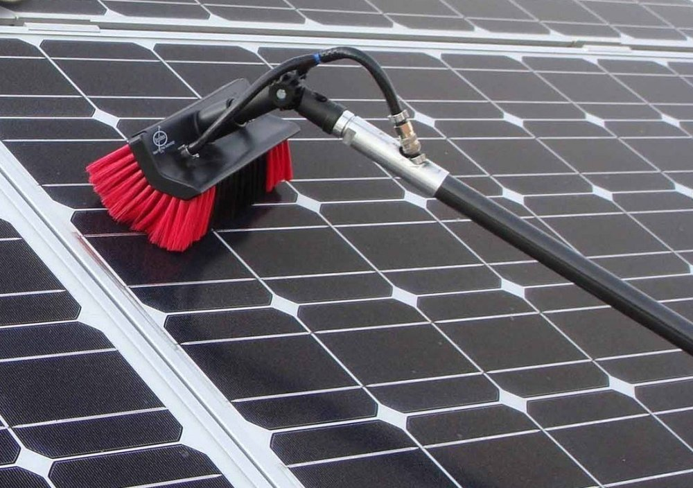 - Solar Panel Cleaning