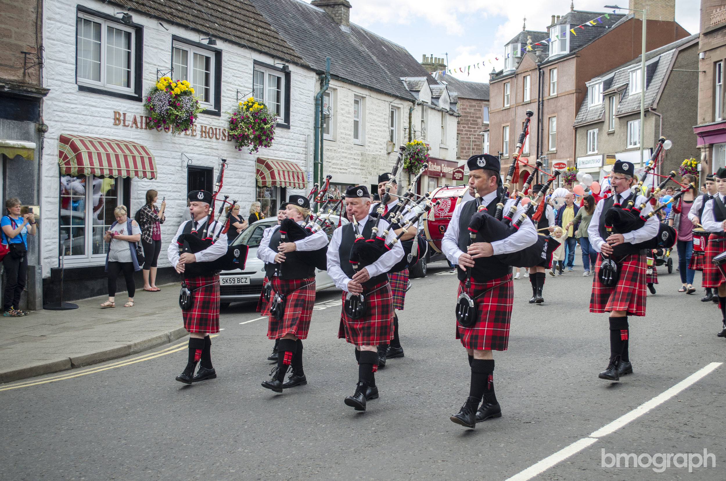 Coupar Angus Pipe Band