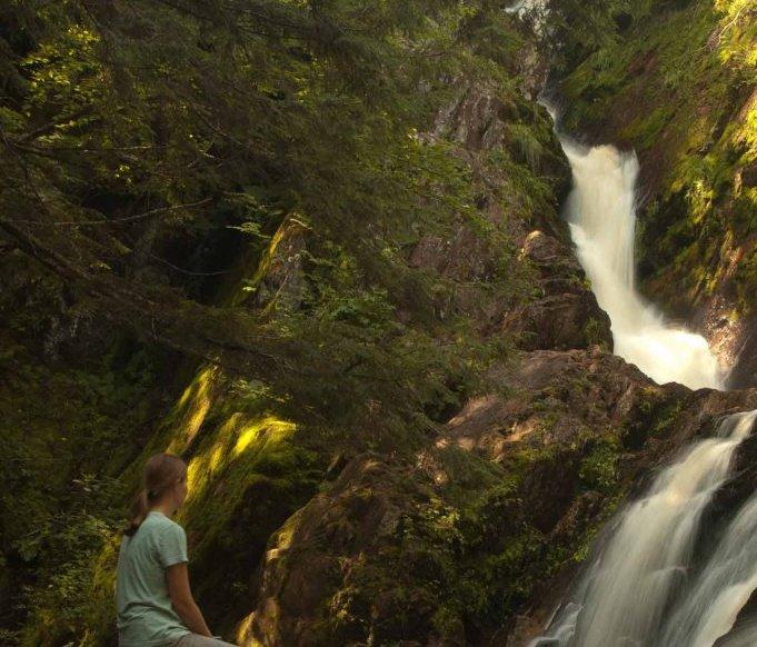 peace at Morgan Falls