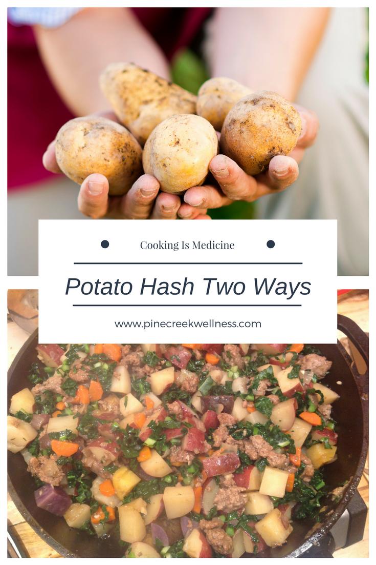 Potato Hash Two Ways