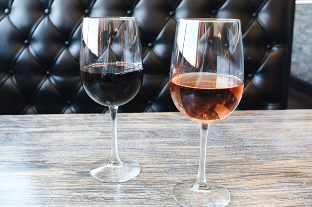 It doesn't have to be 5 o'clock to enjoy a glass of wine 😋 Come enjoy $5 select glasses of wine all day long for Wine Down Wednesday #ElToroChino